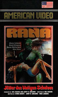 Croaked: Frog Monster from Hell Rana The Legend of Shadow Lake aka Croaked Frog Monster from Hell