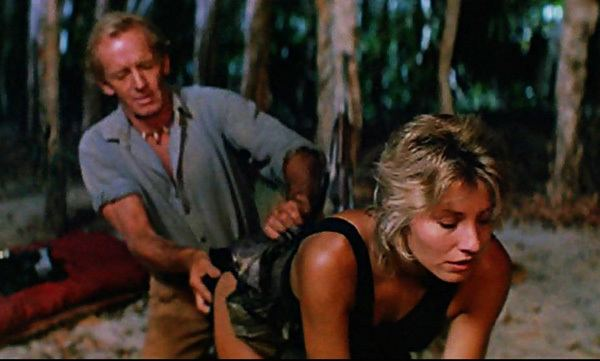 Crocodile Dundee movie scenes Wait what s going on in this scene I didn t think it was that kind of movie Crocodile Dundee was everywhere in 1986