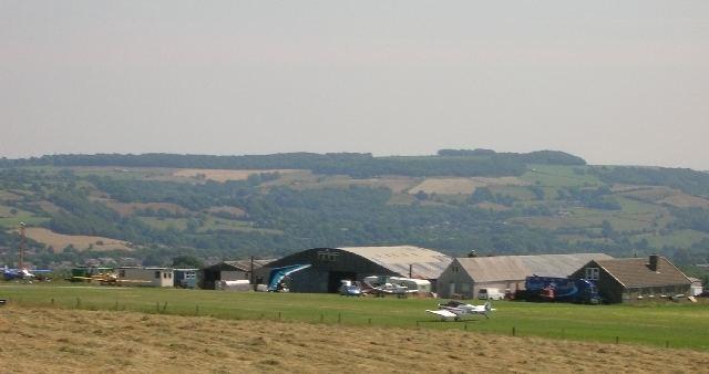 Crosland Moor Airfield