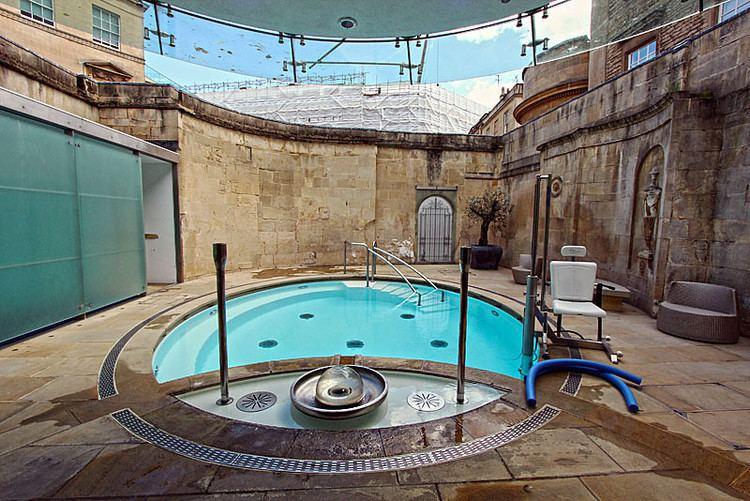 Cross Bath PHOTO Cross Bath at Thermae Bath Spa in Bath England