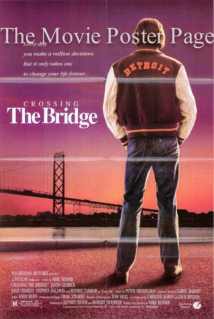Crossing the Bridge Crossing the Bridge 1992 Josh Charles onesheet DS F NM 8