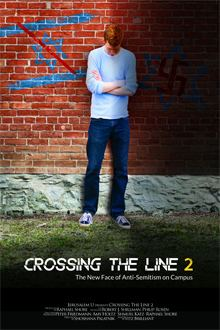Crossing the Line 2: The New Face of Anti Semitism on Campus movie poster