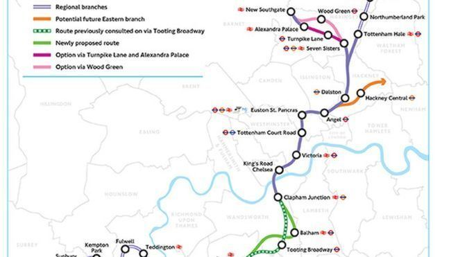 Crossrail 2 Megacity London will 39grind to halt39 without Crossrail 2 BBC News