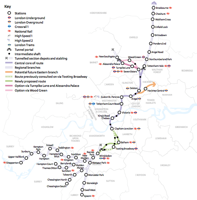 Crossrail 2 Crossrail 2 should be made a development 39priority39 WIRED UK