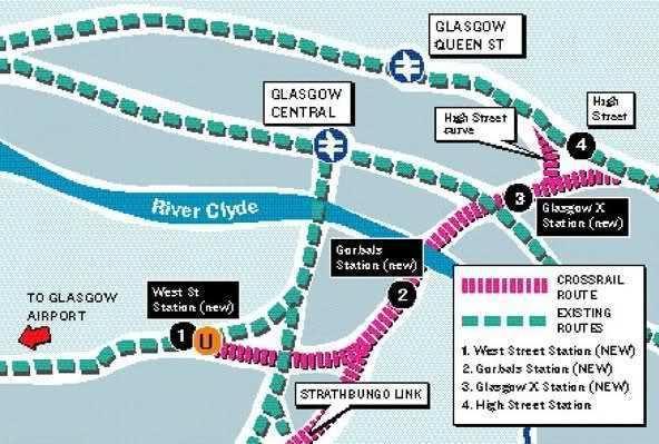 Crossrail Glasgow Glasgow Crossrail