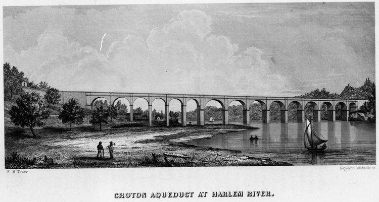 Croton Aqueduct High Bridge HistoricBridgesorg