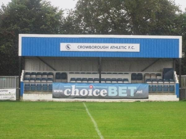 Crowborough Athletic F.C. Pie and Mushy Peas Crowborough Athletic FC