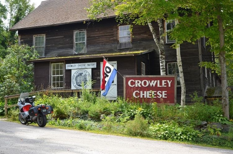 Crowley Cheese Factory Traveling along the Vermont Cheese Trail Part 2