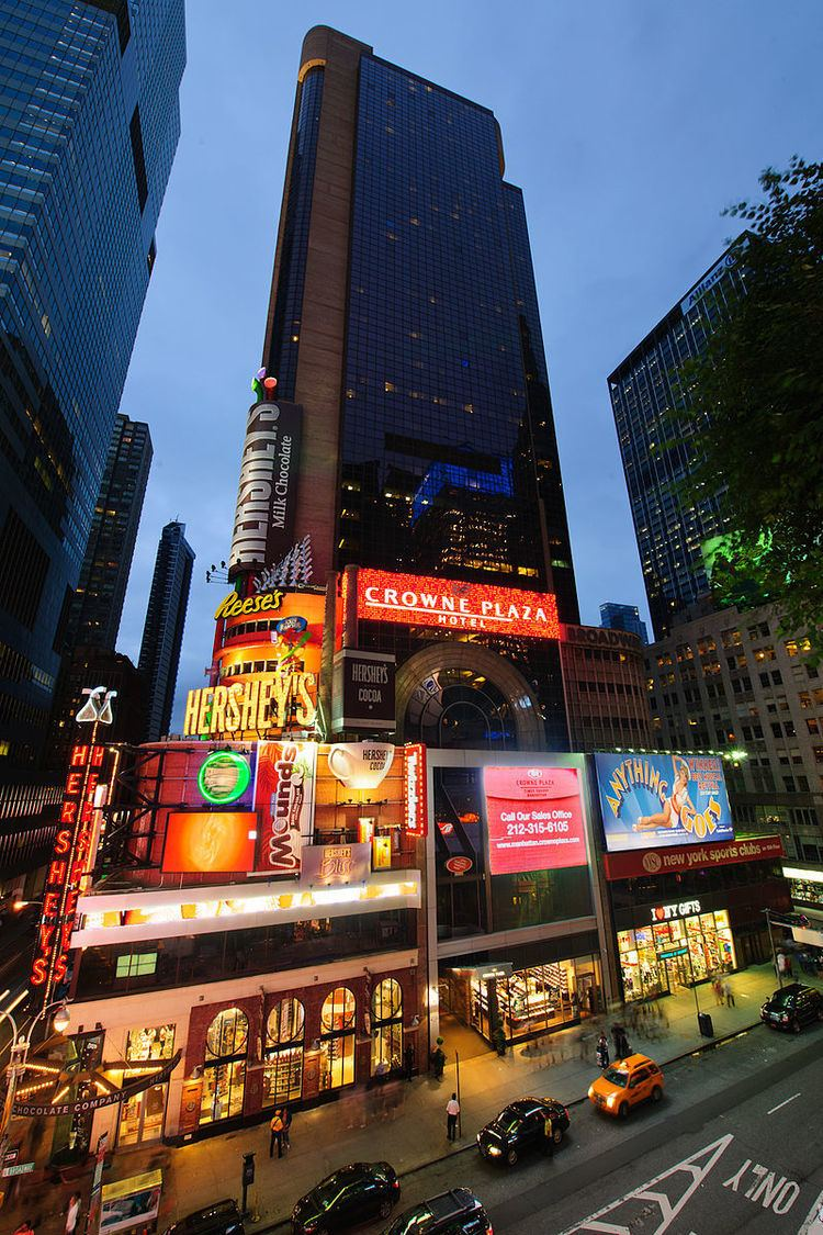 Crowne Plaza Hotel, Times Square