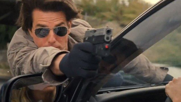 Cruise Cat movie scenes Tom Cruise performs some signature stunts in Knight and Day