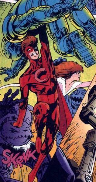 Crusader (Marvel Comics) Crimson Crusader Character Comic Vine