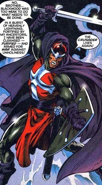 Crusader (Marvel Comics) Crusader ThorBlack KnightLuke CageXManWolverine foe