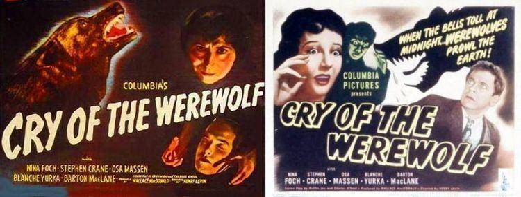 Cry of the Werewolf Cry of the Werewolf 1944 The Visuals The Telltale Mind