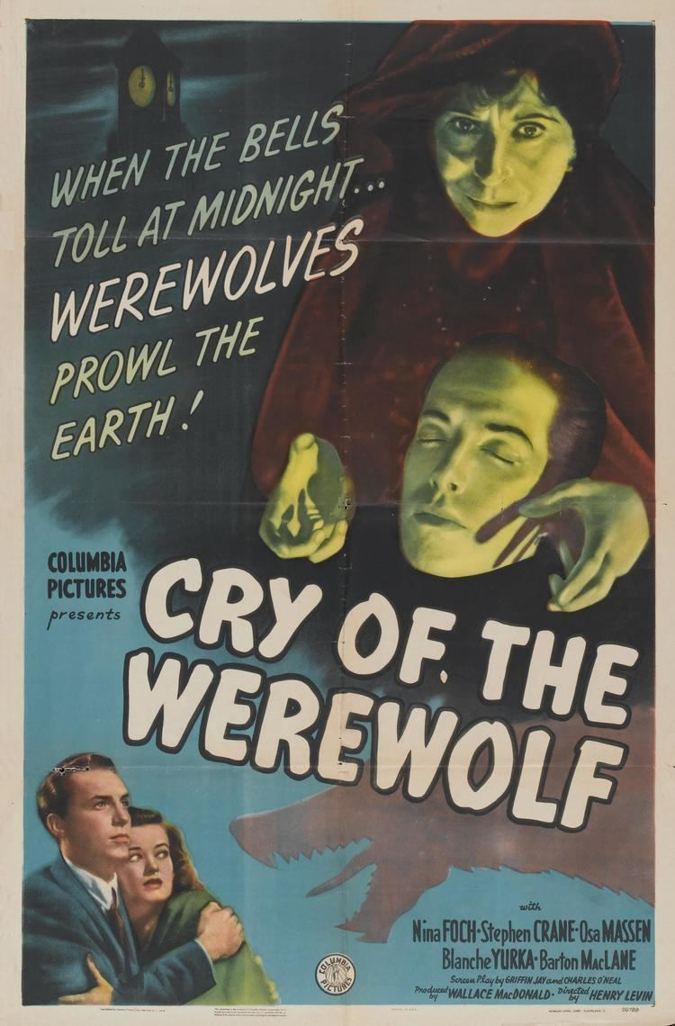 Cry of the Werewolf You Would Do Well to Heed the Cry of the Werewolf 1944 The