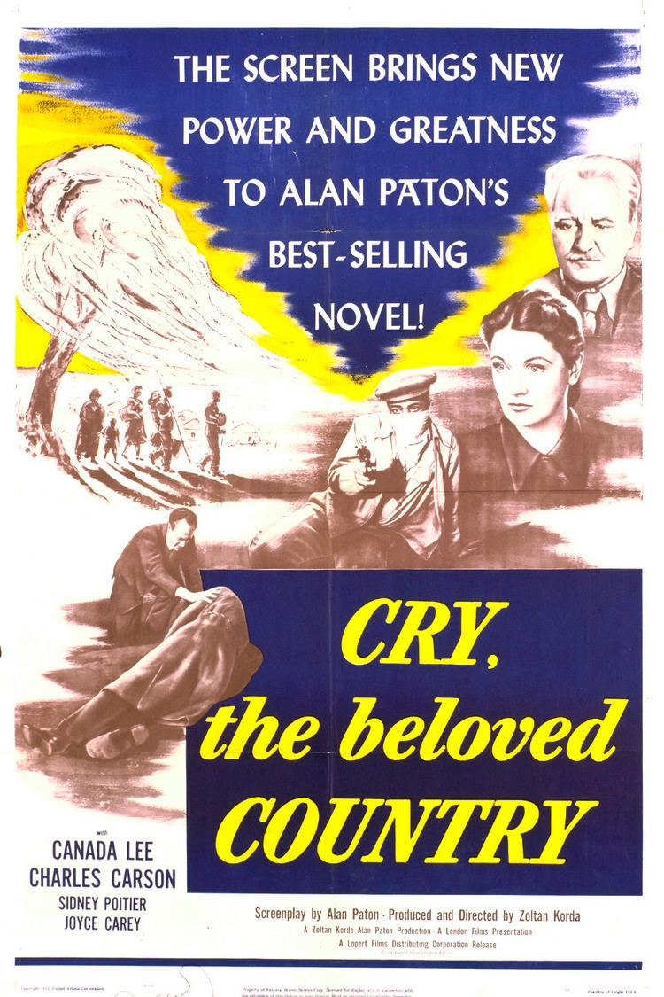 Cry, the Beloved Country (1951 film) wwwgstaticcomtvthumbmovieposters3459p3459p