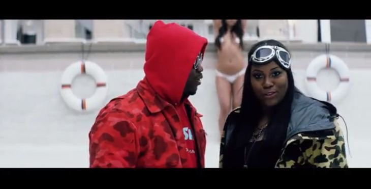 Crystal Caines Video Crystal Caines ft AAP Ferg Whiteline Boi1danet