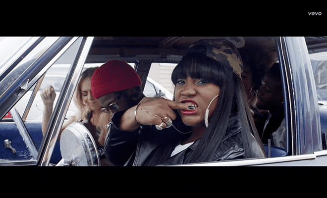 Crystal Caines Video Premiere Whitelines Crystal Caines ft AAP