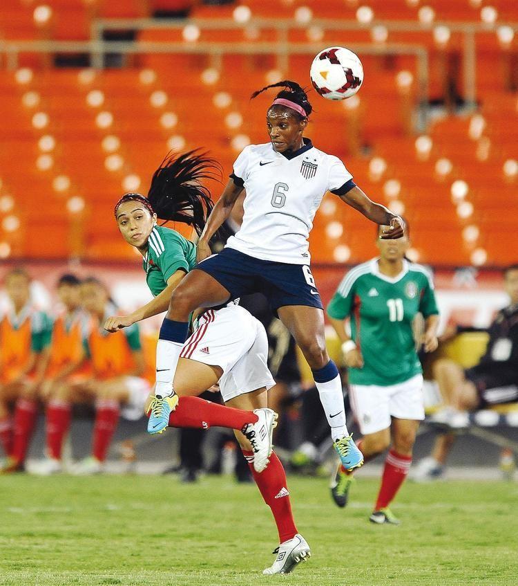 Crystal Dunn Crystal Dunn Learn Soccer From the Pros Crystal Dunn