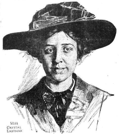 Crystal Eastman Crystal Eastman Keeps her Name New England Historical