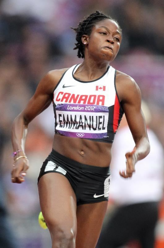 Crystal Emmanuel Olympian Crystal Emmanuel to race in the 60m at the AC