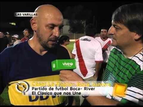 César La Paglia Entrevista a Cesar La Paglia El Clasico que nos Une YouTube