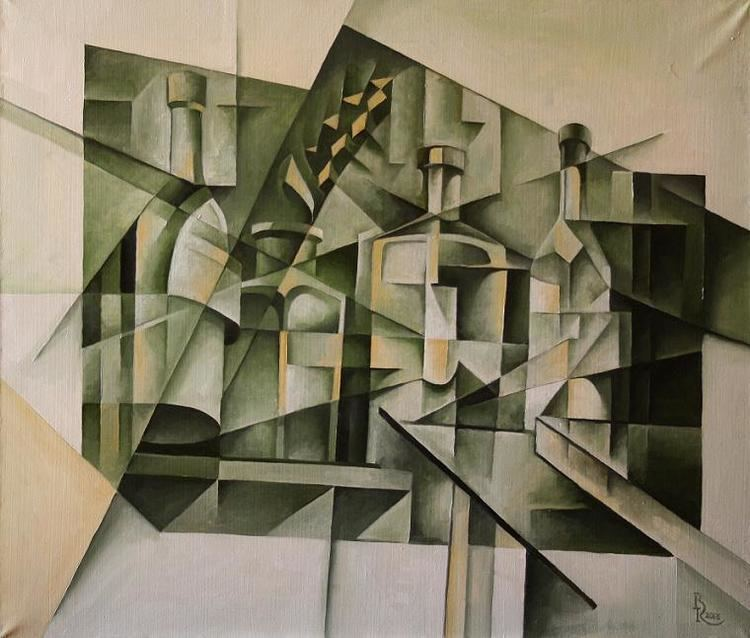 Cubo-Futurism Flamenco Cubofuturism Krotkov Vassily 2014 by scareface26 on