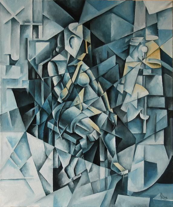 Cubo-Futurism Cubofuturism Krotkov Vassily suprematism and cubofuturism