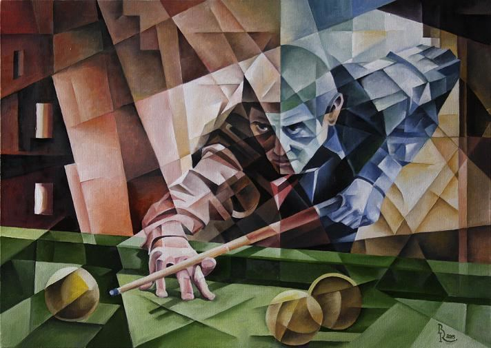 Cubo-Futurism Cubofuturism Krotkov Vassily