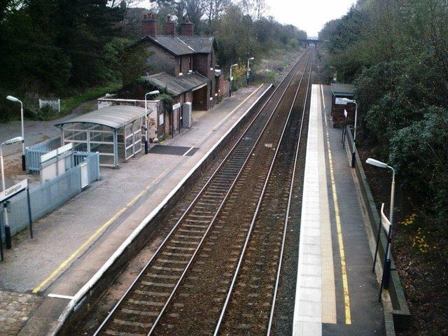 Cuddington railway station