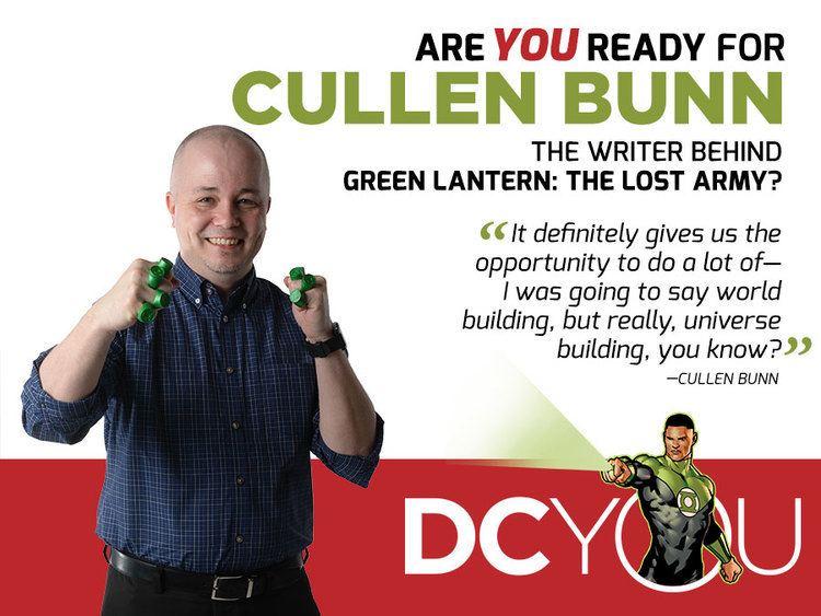 Cullen Bunn Are You Ready for Green Lantern The Lost Armys Cullen Bunn DC