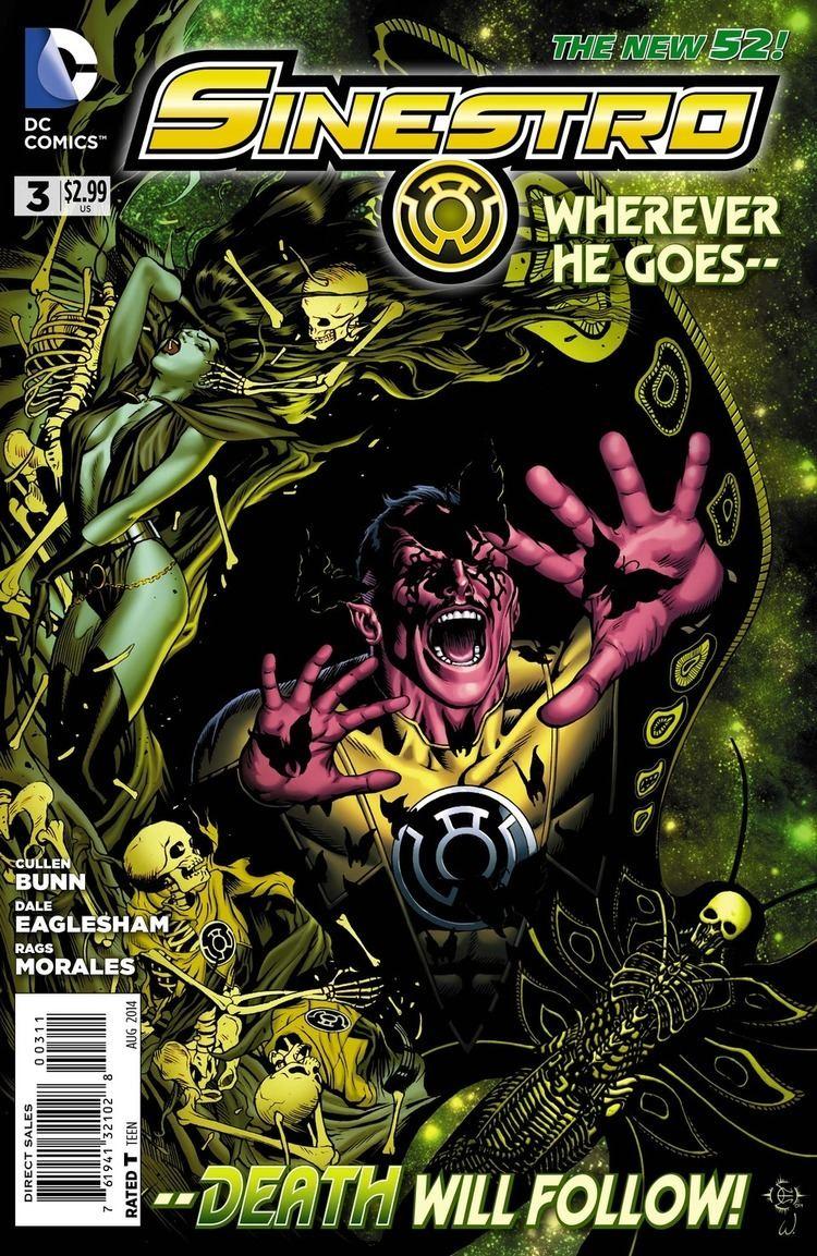 Cullen Bunn Interview Cullen Bunn Gets Dark on SINESTRO Comic Vine