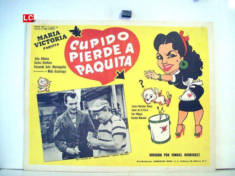 Cupido pierde a Paquita CUPIDO PIERDE A PAQUITA MOVIE POSTER CUPIDO PIERDE A PAQUITA