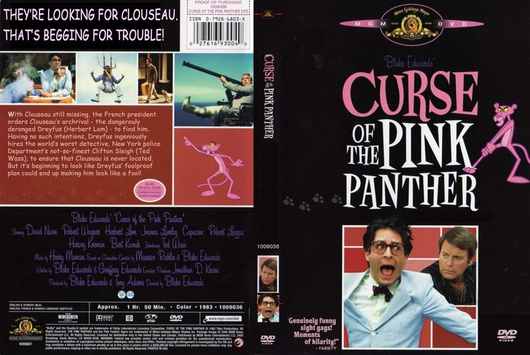 Curse of the Pink Panther Curse of the Pink Panther dvd cover 1983 R1 Custom