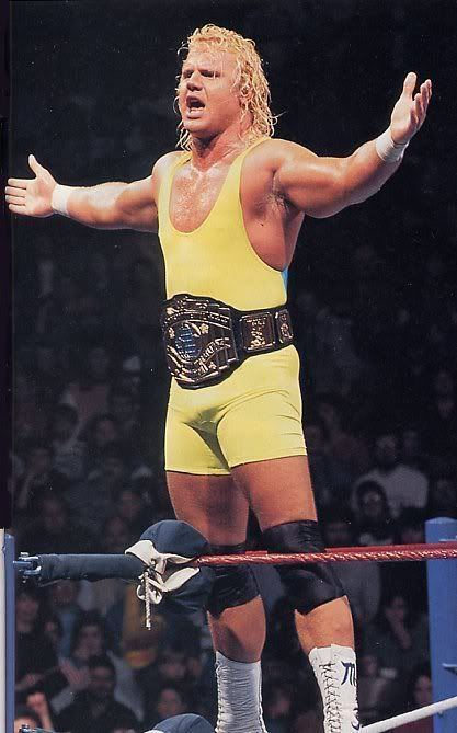 Curt Hennig Mr Perfect Curt Hennig As a wrestler the nickname says it all