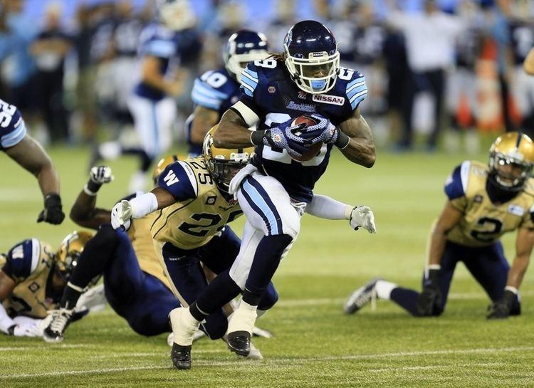 Curtis Steele Toronto Argonauts Curtis Steele Interview