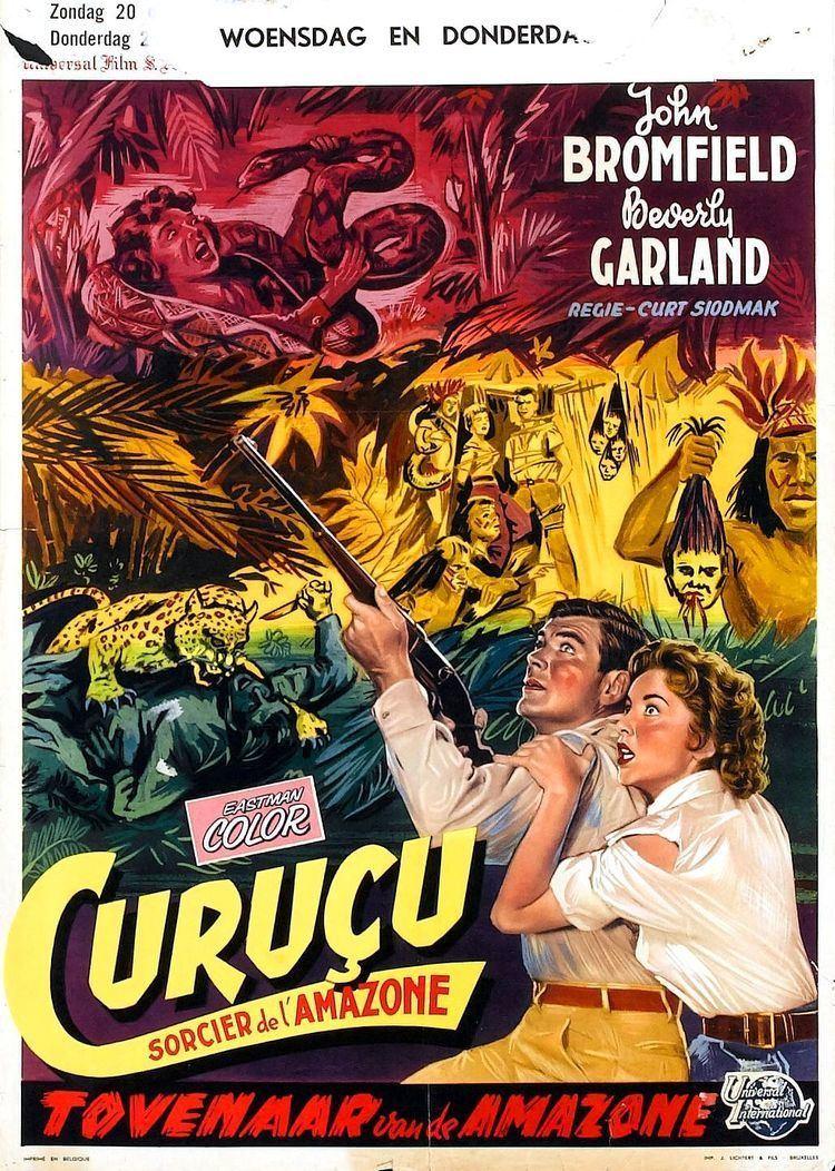 Curucu, Beast of the Amazon Poster for Curucu Beast of the Amazon 1956 USA Wrong Side of