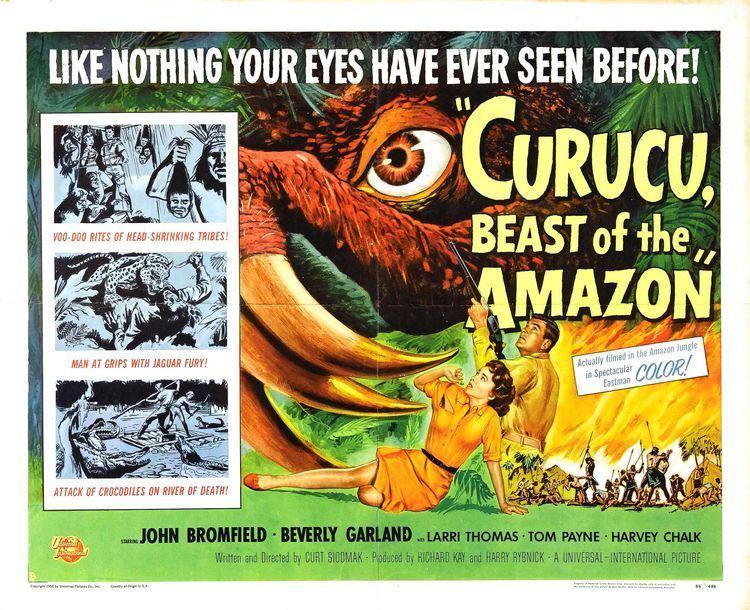 Curucu, Beast of the Amazon Curucu Beast of the Amazon USA 1956 HORRORPEDIA