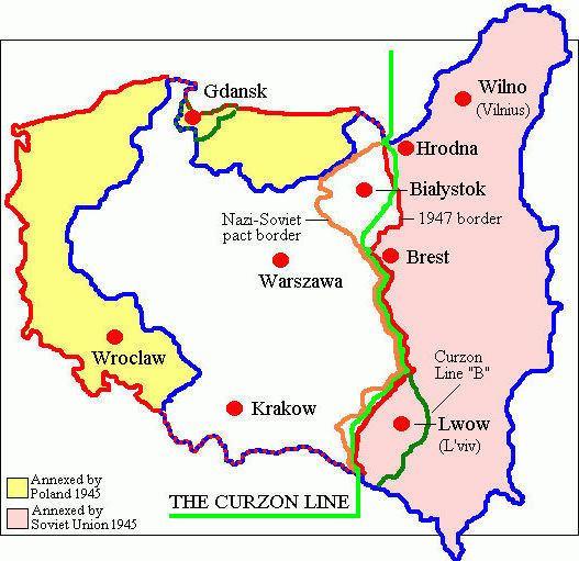 Curzon Line Polish Genealogical Society of California Invasion Of Poland