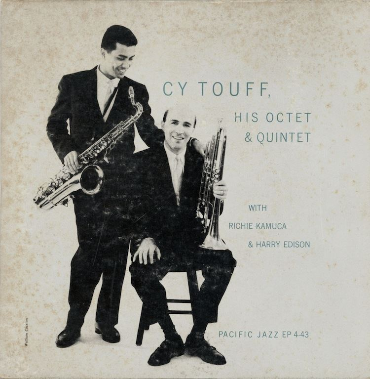 Cy Touff titleTHE CY TOUFF RICHIE KAMUCA SESSIONS JAZZ RESEARCH