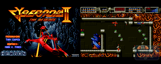 Cybernoid II: The Revenge Cybernoid II The Revenge Hall Of Light The database of Amiga games