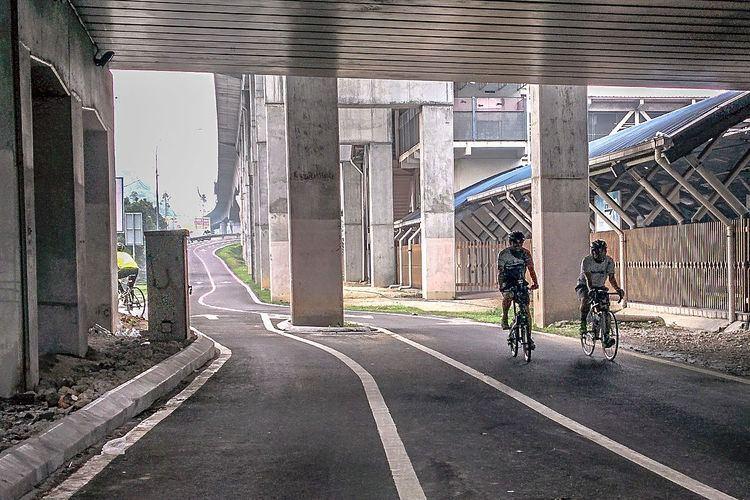 Cycling in Kuala Lumpur