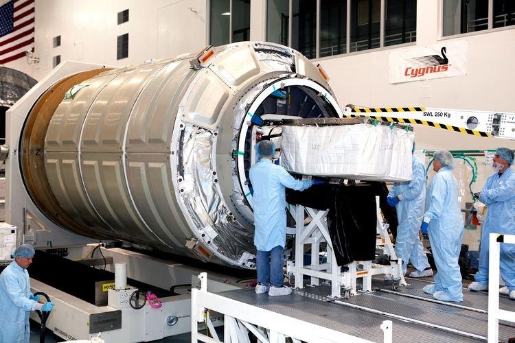 Cygnus (spacecraft) Cygnus Spacecraft Loaded with Supplies NASA