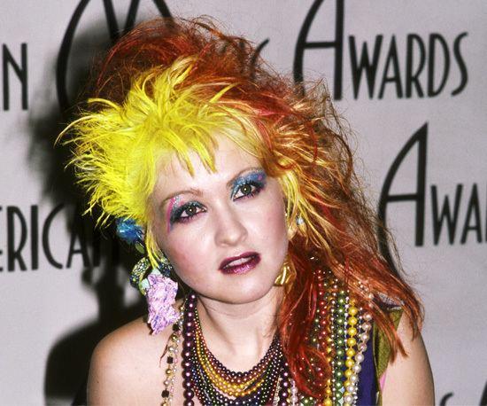 Cyndi Lauper Cyndi Lauper 25 Stars Gettin39 Big Hair That Is