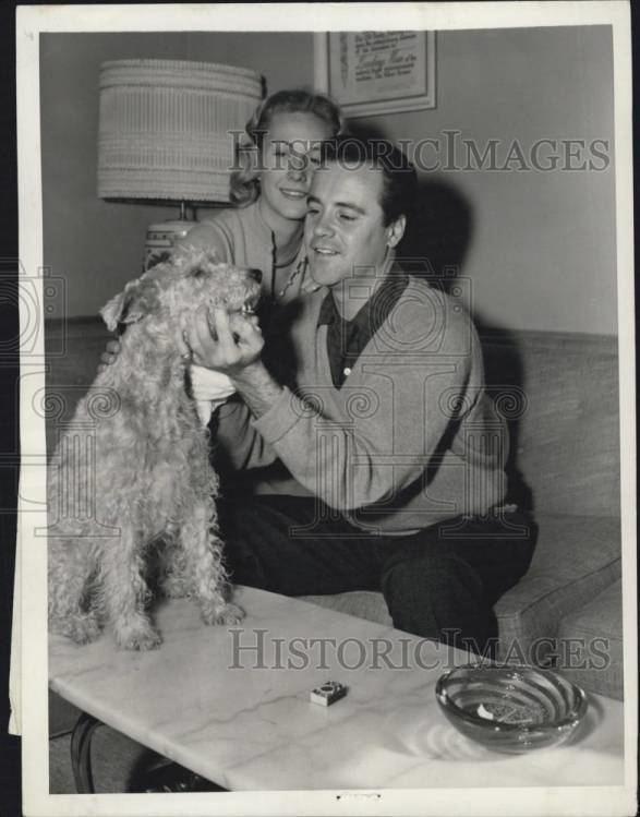 Cynthia Stone 1956Jack Lemmon Wife Actress Cynthia Stone Dog Duffy