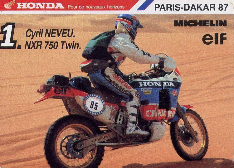 Cyril Neveu HondaSeite der RallyeTenereSeite