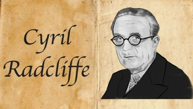 Cyril Radcliffe, 1st Viscount Radcliffe Cyril Radcliffe The man who drew the partition line BBC News