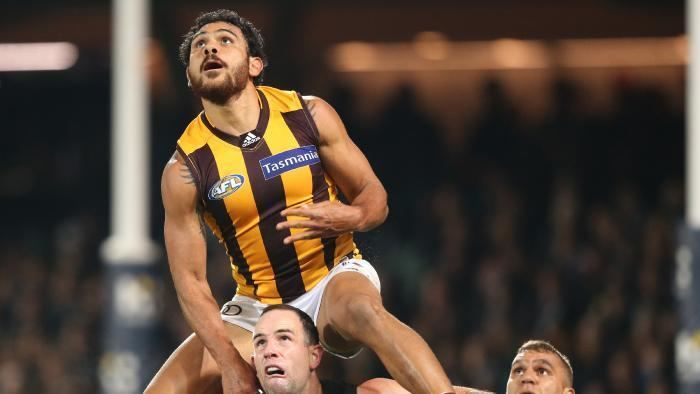 Cyril Rioli Video Cyril Rioli takes the Mark of the Year that wasnt in