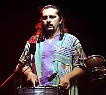 Cyro Baptista Cyro Baptista playing Percussion in Paul Simons band