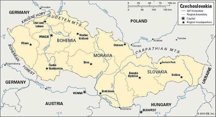 Czechoslovakia Czechoslovakia historical nation Europe Britannicacom