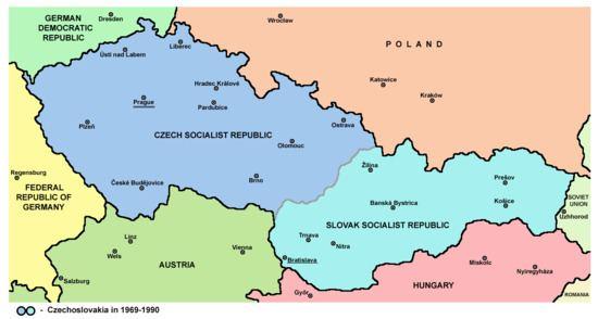 Czechoslovakia Dissolution of Czechoslovakia Wikipedia